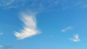 Angel clouds, photo by Rowena Beaumont