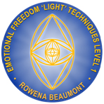 Emotional Freedom 'Light' Techniques Level 1 with Rowena Beaumont seal